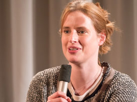 Lenka Kühnertová, Carolin Callies, Ulrike Almut Sandig: Prêt-à-Porter,                                                               Freitag, 18.11.16               /                   20.30              Uhr                               <br/>(c) Sebastian Wenzel