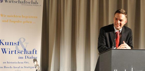 Martin Schäuble: Preis des Wirtschaftsclubs <br/>(c) Kristina Popov