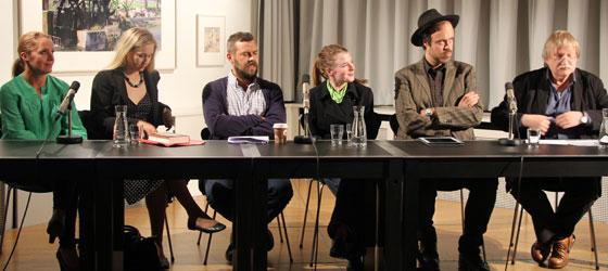 Kasper Colling Nielsen, Leena Parkkinen, Eirikur Örn Norðdahl, Anna Ringberg, Benedicte Meyer Kronenberg: Schriftproben I <br/>(c) Heiner Wittmann