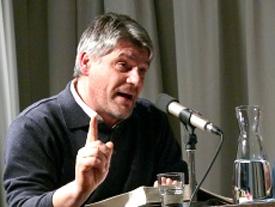 Wolf Wondratschek, Raoul Schrott: Nacht der Ilias, Mittwoch, 10.12.08               /                   19.00              Uhr <br/>(c) Heiner Wittmann