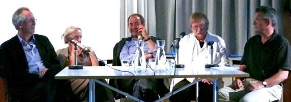Thomas Karlauf, Ute Oelmann, Ernst Osterkamp: Stefan George heute, Montag, 27.06.11               /                   20.00              Uhr <br/>(c) Heiner Wittmann