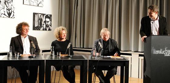 Christine Traber, Ingo Schulze: Henkerslos – ein Märchenbrevier <br/>(c) Kristina Popov