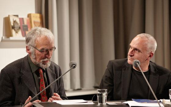 Katja Lange-Müller, Kaspar H. Spinner: Literatur und Handwerk - Du hast doch keine Ahnung! <br/>(c) Yves Noir