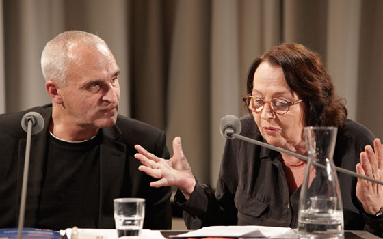 Katja Lange-Müller, Kaspar H. Spinner: Literatur und Handwerk - Du hast doch keine Ahnung!, Freitag, 25.11.11               /                   20.00              Uhr <br/>(c) Yves Noir
