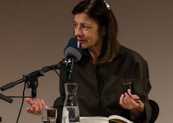 Ursula Krechel: Geisterbahn, Dienstag, 13.11.18               /                   19.30              Uhr <br/>(c) Simon Adolphi