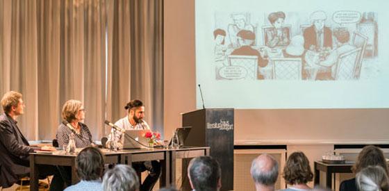 Birgit Weyhe, Hamed Eshrat: Madgermanes und Venustransit, Samstag, 23.07.16               /                   13.00              Uhr <br/>(c) Wenzel