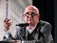Friedrich Achleitner: Architektur – Literatur, Ist Architektur Sprache?, Donnerstag, 22.05.03               /                   20.00              Uhr <br/>(c) Heiner Wittmann
