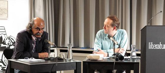 Qassim Haddad, Stefan Weidner: Arabische Lyrik - Heute <br/>(c) Sebastian Becker