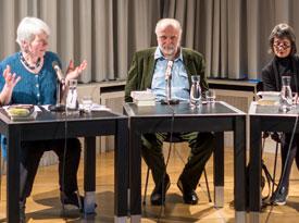 Dževad Karahasan, Ilma Rakusa: Der Trost des Nachthimmels <br/>(c) Wenzel