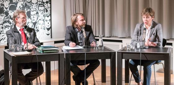 Dorothee Weitbrecht, Kuno Hauck: Deutsche Opfer der argentinischen Militärdiktatur, Mittwoch, 09.03.16               /                   20.00              Uhr <br/>(c) Sebastian Wetzel