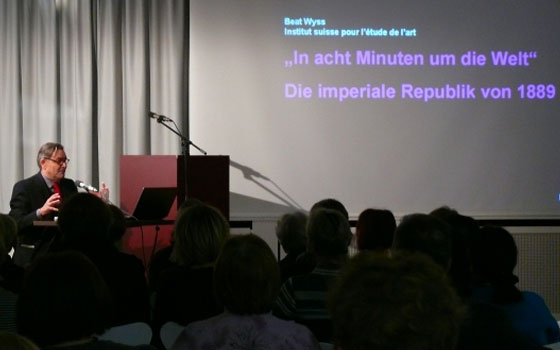 Beat Wyss: Bilder von der Globalisierung <br/>(c) Heiner Wittmann