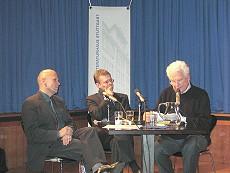 Georg Klein, Tankred Dorst: Betrifft: Buchpremiere <br/>(c) Literaturhaus Stuttgart