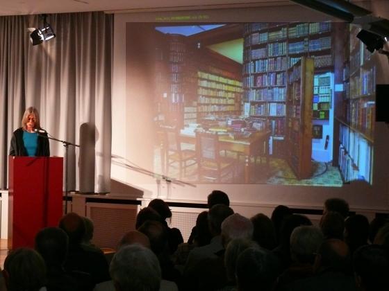 Rainer Moritz, Denis Scheck: Wie viele Bücher braucht der Mensch? <br/>(c) Heiner Wittmann