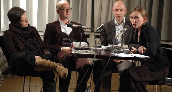 Daniela Seel, Klaus Sander, Michael Zöllner: Kookbooks, Supposé, Tropen – Zukunftsmodelle Kleiner Verlage <br/>(c) Tilman Eberhardt