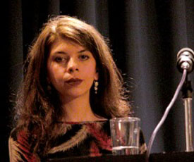 Marica Bodrozic, Hussain Al-Mozany: Chamisso-Förderpreis 2003 <br/>(c) Heiner Wittmann