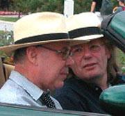 Horst Brandstätter, Peter Salomon: 327km/h PS Hero© – Oden an das Auto <br/>(c) Heiner Wittmann