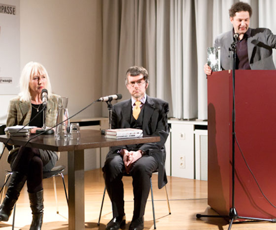 Birgitte Kronauer: Von Bergen und Romanen <br/>(c) Lukas Stark