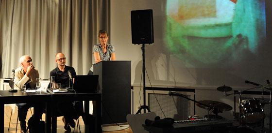 Przemek Zajfert, Heinrich Steinfest, Dorothea Dieckmann, José F. A. Oliver: Camera Obscura – Vermessung der Zeit <br/>(c) Kristina Popov
