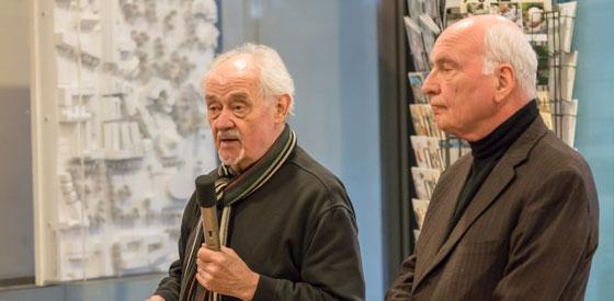 Friedrich Pfäfflin, Ulrich Keicher: contemporains – Poesie und Prosa <br/>(c) Sebastian Wenzel