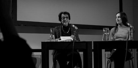 Lizzie Doron, Mirna Funk: Eigenes Leben,                                                               Mittwoch, 15.11.17               /                   20.00              Uhr                               <br/>(c) Simon Adolphi