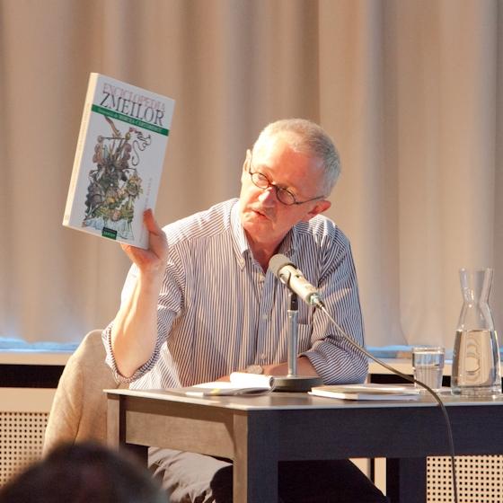 Ernest Wichner, Mircea Cãrtãrescu: Enzyklopädie der Drachen,                                                               Sonntag, 08.07.12               /                   20.00              Uhr                               <br/>(c) Sebastian Becker