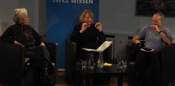 """Ulrike Draesner, John von Düffel: Annette von Droste-Hülshoff  """"Die Judenbuche"""" <br/>(c) Simon Adolphi"""