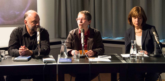 Rebecca Harms, Andrej Kurkow: Echo der Rebellion, Montag, 02.06.14               /                   20.00              Uhr <br/>(c) Sebastian Wenzel