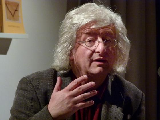 Péter Esterházy, Miklós Szüts: W.G. Sebald <br/>(c) Heiner Wittmann