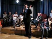 Heinz Schlaffer, Georg Maag, Reinhard Steiner, Peter Czerwinski: Hölle und Himmel: Dantes Göttliche Komödie, Donnerstag, 15.07.04               /                   20.00              Uhr <br/>(c) Heiner Wittmann