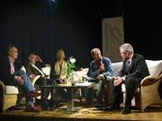 Josef-Otto Freudenreich, Edzard Reuter, Manfred Zach: Abstürze, Dienstag, 25.04.06               /                   20.00              Uhr <br/>(c) Heiner Wittmann