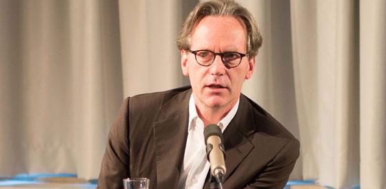 Klaus Gerrit Friese, Werner Pokorny, Nikolai B. Forstbauer: Warum brauchen Künstler Galerien? <br/>(c) Sebastian Wenzel