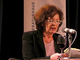 Zsuzsanna Gahse: durch und durch <br/>(c) Heiner Wittmann