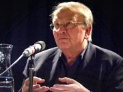 Wilhelm Genazino: Der Schmerz in der Schublade - Über dichterische Sätze <br/>(c) Heiner Wittmann