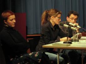 Franziska Gerstenberg, Anna Katharina Hahn: Wie viel Vögel - Kavaliersdelikt <br/>(c) Literaturhaus Stuttgart