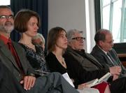 Paul Nizon, Diane Meur, Jean Rouaud, Elsbeth Ranke: André-Gide-Preis <br/>(c) Heiner Wittmann