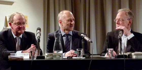 Michael Göring, Friedrich Wilhelm Graf: Der Seiltänzer - Kirchendämmerung, Dienstag, 13.12.11               /                   20.00              Uhr <br/>(c) Heiner Wittmann