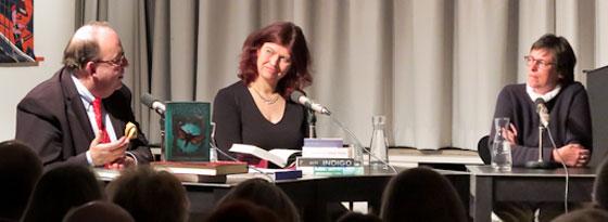 Claudia Ott, Denis Scheck, Julia Schröder: Grimms Erben,                                                               Montag, 10.12.12               /                   20.00              Uhr                               <br/>(c) Sebastian Becker