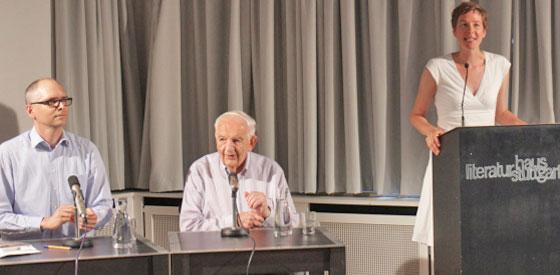 Alfred Grosser: Le Mensch, Donnerstag, 22.06.17               /                   20.00              Uhr <br/>(c) Heiner Wittmann