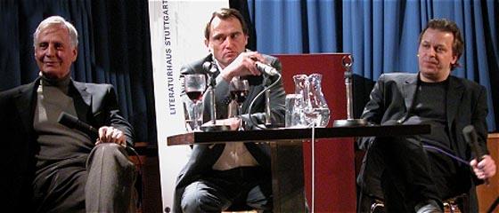 Harald Bergmann, Gregor Wittkop, Heinz Wismann: Passion Hölderlin, Donnerstag, 08.01.04               /                   20.00              Uhr <br/>(c) Heiner Wittmann