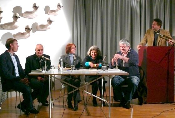 Ulf Stolterfoht, José F. A. Oliver, Kai Weyand, Barbara Honigmann: Unverhofftes Wiedersehen! - Eine Hommage an Johann Peter Hebel <br/>(c) Heiner Wittmann
