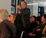 Hartmut von Hentig: Wissen!  Bildung!!  Denken!!! <br/>(c) Heiner Wittmann