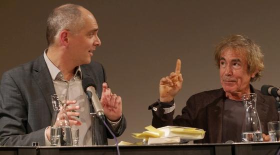 Thea Dorn, Francois Jullien: Heimat <br/>(c) Heiner Wittmann