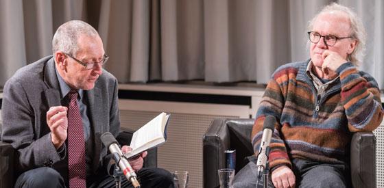 Michael Köhlmeier, Konrad Paul Liessmann: Wer hat dir gesagt, dass du nackt bist, Adam? <br/>(c) Sebastian Wenzel