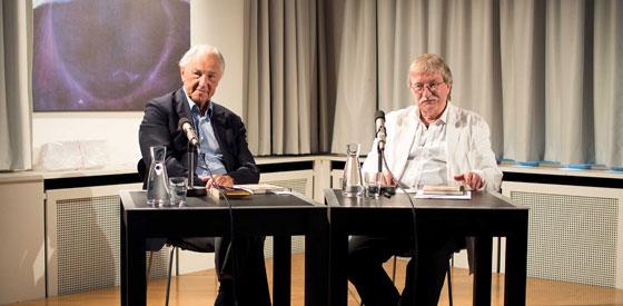 Joachim Kalka, Norbert Miller: Eine Abhandlung über Schweinebraten, Montag, 23.06.14               /                   20.00              Uhr <br/>(c) Sebastian Wenzel