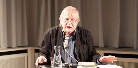 Joachim Kalka: Übersetzungsparcours <br/>(c) Sebastian Wenzel