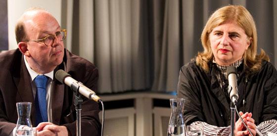 Sibylle Lewitscharoff: Killmousky. Ein Mann, ein Kater, ein Mord, Mittwoch, 28.05.14               /                   20.00              Uhr <br/>(c) Sebastian Wenzel