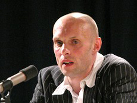 Michael Lentz: Michael Lentz <br/>(c) Heiner Wittmann