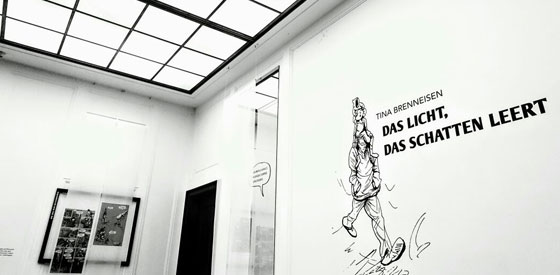 """Tina Brenneisen: Comicbuchpreis 2017 -  """"Das Licht, das Schatten leert"""" <br/>(c) Sebastian Wenzel"""