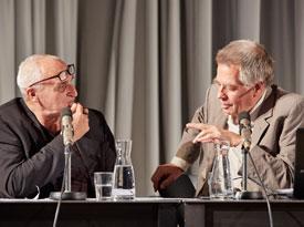 Michael Stavaric, Hanspeter Ortner: Literatur und Schreibstrategien, Freitag, 30.06.17               /                   20.00              Uhr <br/>(c) Yves Noir