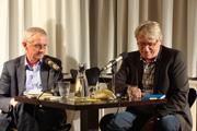 Ernest Wichner, Hans Thill, Tobias Borke, Matthias Grabow, Ulrike Almut Sandig, Marlen Pelny: 8. Stuttgarter Lyriknacht <br/>(c) Literaturhaus Stuttgart